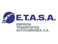 Logo ETASA Empresa Trasportes Autocamiones S.A.